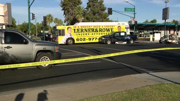 3 people dead following 5-vehicle crash involving Valley Metro bus