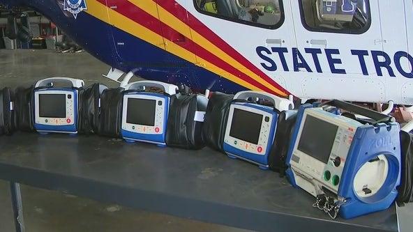 100 Club of Arizona donates heart monitors, defibrillators to DPS