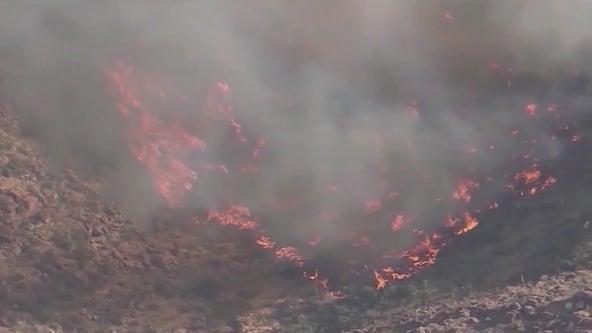 Wet weather is good news for fire crews battling Arizona wildfires