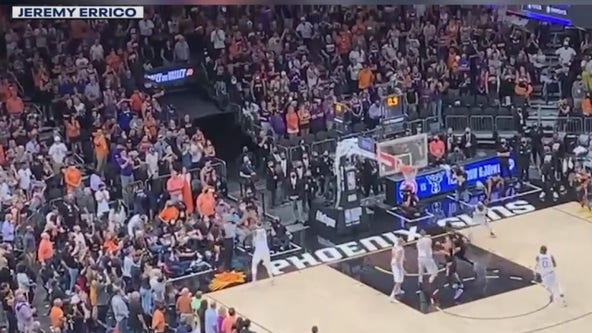 Phoenix Suns fans revel in suns 'Valley Oop' win over LA Clippers