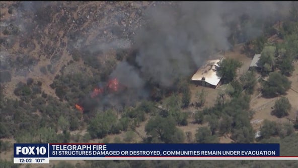 Telegraph Fire: Evacuation orders lifted for El Capitan residents
