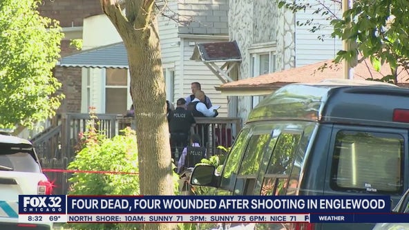 4 killed, 4 wounded in Englewood mass shooting