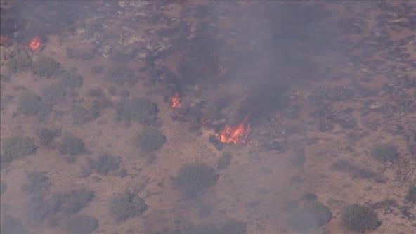 Crews battling Cornville Fire in Yavapai County; 1,000 acres burned so far