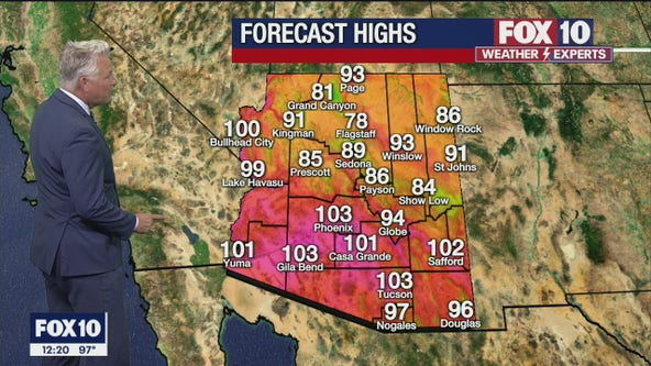 Noon Weather Forecast - 6/9/21