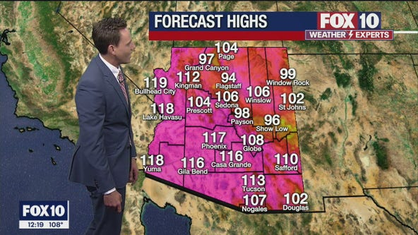 Noon Weather Forecast - 6/15/21