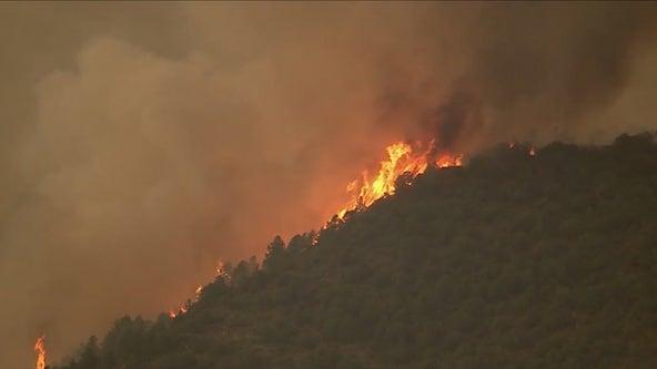 Crews continue to battle raging Backbone Fire
