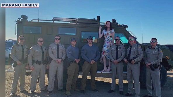 DPS troopers escort daughter of fallen colleague to high school graduation