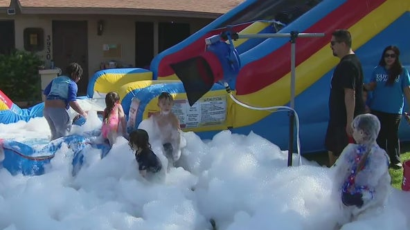 Rent water slides, bounce houses at Jolly Jumpers