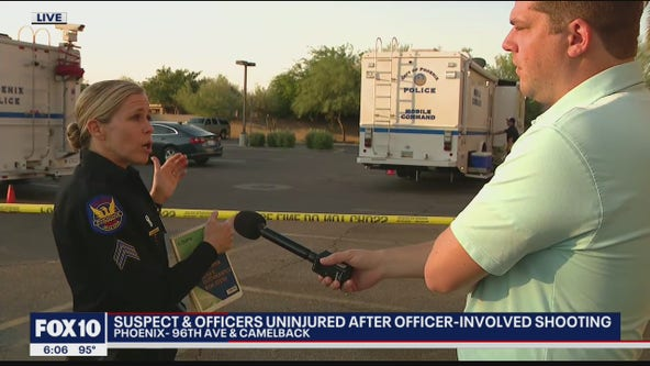 Phoenix Police investigate officer-involved shooting outside of bar