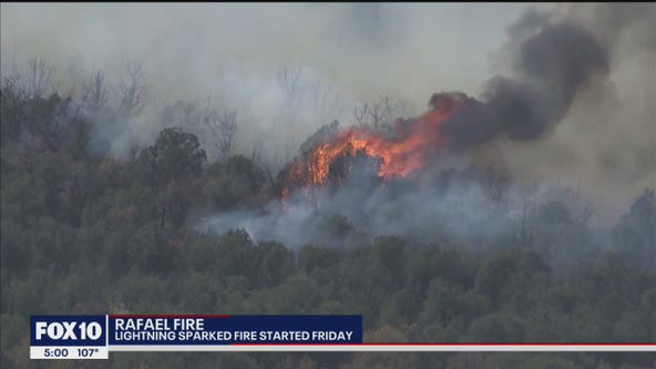 Rafael Fire causes forest closure in Coconino County