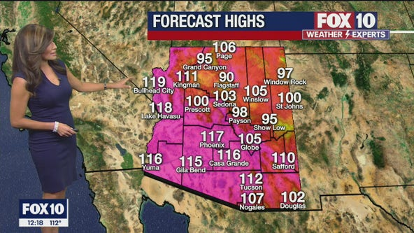 Noon Weather Forecast - 6/18/21