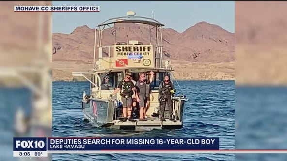 Deputies searching for missing 16-year-old boy in Lake Havasu