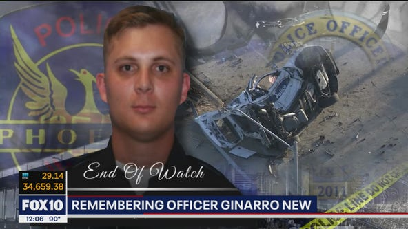 Funeral service to be held for Phoenix Police Officer Ginarro New
