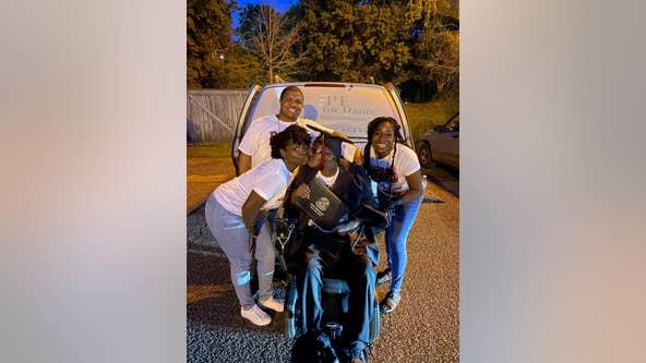 Virginia teen with deadly disease defies odds, graduates high school