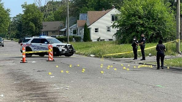 11-year-old boy, father among 3 shot on Detroit's west side