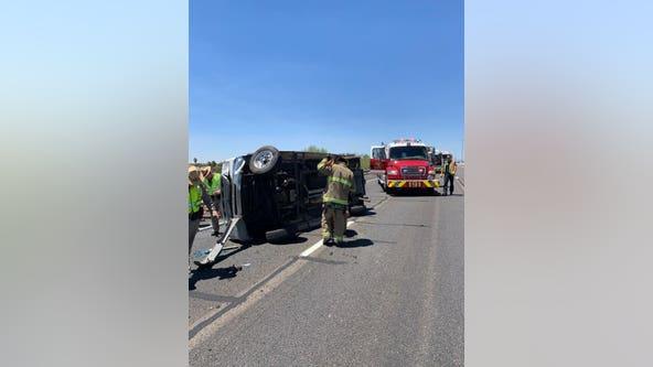 Crash closes Loop 101 at Olive Avenue in Peoria