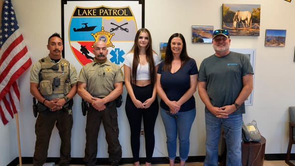 Teenager thanks Maricopa County deputies after nearly dying in the Salt River