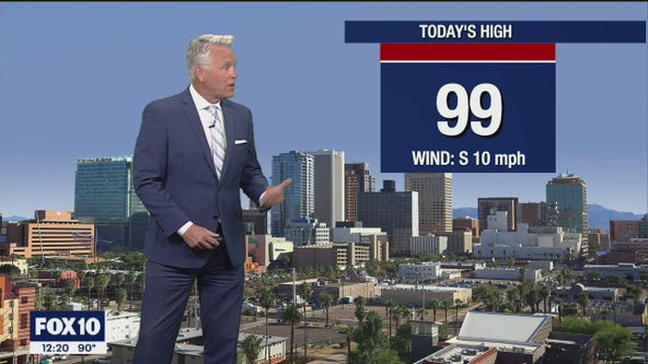 Noon Weather Forecast - 6/8/21