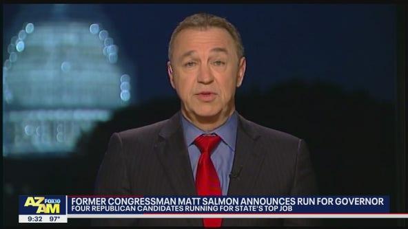 Matt Salmon enters Arizona governor's race