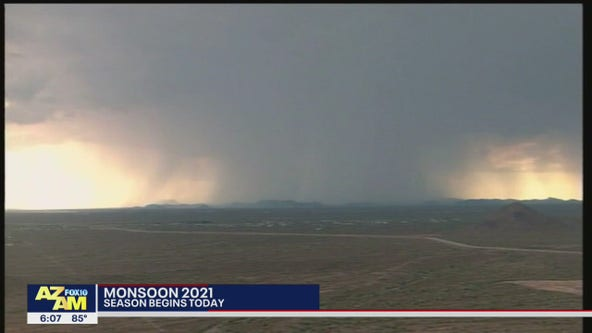 Monsoon precipitation outlook a tossup for much of Arizona