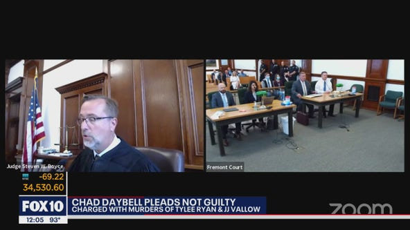 Chad Daybell pleads not guilty to murder charges