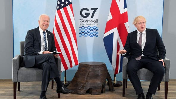 G-7 Summit: Biden to meet with world leaders as conference kicks off Friday