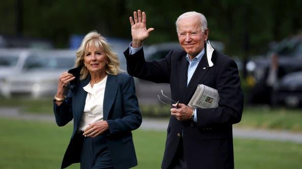 Biden visits UK in 1st overseas trip as president to reassure allies