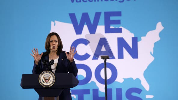 Kamala Harris visits South Carolina in US COVID-19 vaccine push
