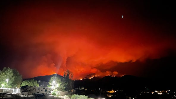 What to know about the Telegraph Fire: Evacuations ordered, highways closed