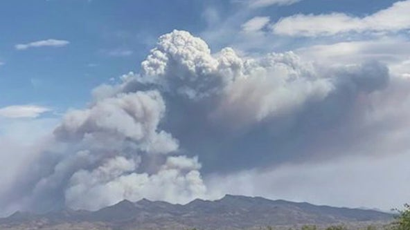 Evacuations ordered for 7,000-acre Mescal Fire burning near Globe