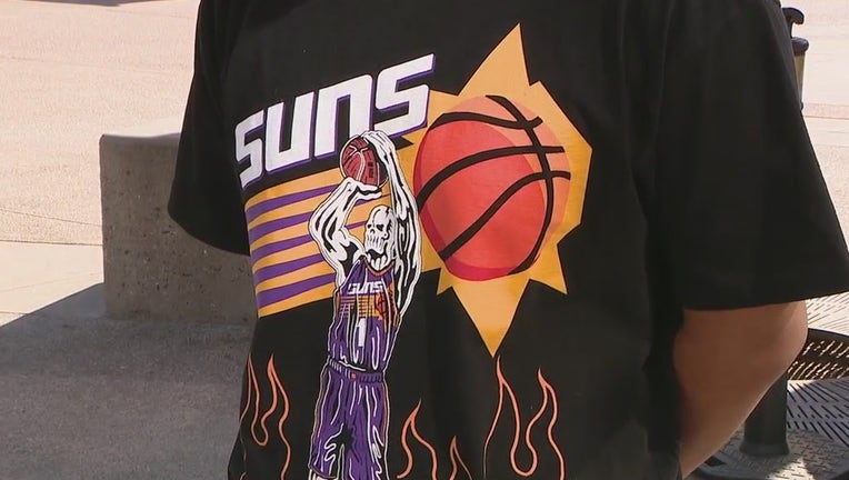 Phoenix Suns shirt
