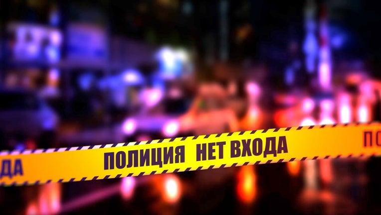 File Photo. A Russian Crime Scene.
