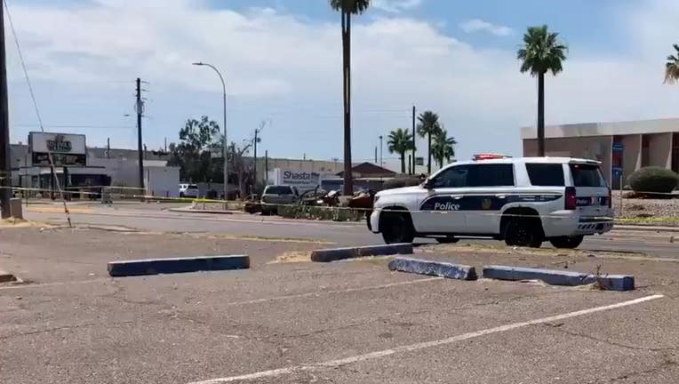 Phoenix police are investigating a deadly crash at 38th Drive and Indian School Road.