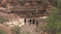 Search crews on day 2 of looking for teen washed away in Cottonwood