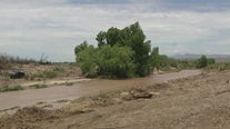Seearch for girl who was swept away by floodwaters near Pima put on hold