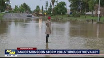 Monsoon storms cause flooding, downed trees in Scottsdale