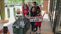 Back to school shopping event for kids in need