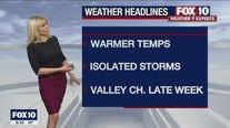 Evening Weather Forecast - 7/26/21