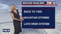 4 p.m. Weather Forecast - 7/27/21