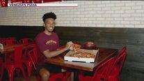 ASU's quarterback partners with a local pizzeria