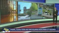 Peoria, Phoenix, Tempe and Tucson requiring masks inside city buildings