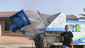 Can Clean Pros will clean your trash can
