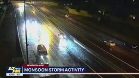 Stormy weather hits the Valley overnight