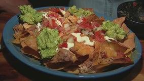 Making a nacho and taco bar with Macayo's