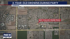 3-year-old boy dies after being pulled from Glendale pool