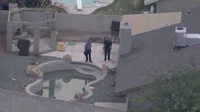 FD: 5-year-old girl hospitalized after being found in Glendale pool