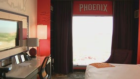 Suns-themed room at Gila River Hotels & Casinos Wild Horse Pass