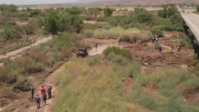 Pima Police: 4-year-old girl who was swept away during flash flooding 'did not survive'