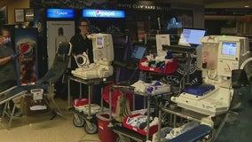 Arizona Coyotes host blood drive at Gila River Arena to help with Arizona's blood shortage