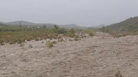 Phoenix area cooled by monsoon rain; flooding reported across Arizona